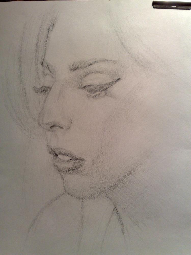Lady Gaga by deadpixel